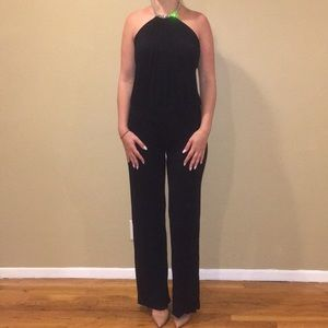 Sky black jumpsuit